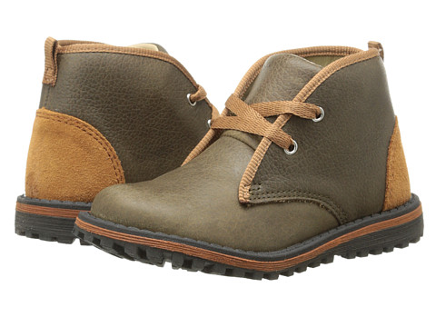 Umi Kids - Riker (Toddler/Little Kid) (Olive Multi) Boys Shoes