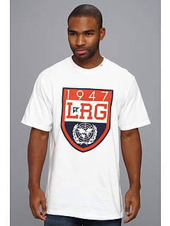 SALE! $12.6 - Save $15 on L R G L R G United Nation Tee (White) Apparel - 55.00% OFF $28.00