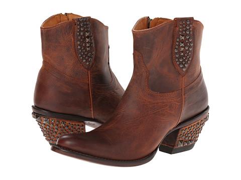 Lucchese - M4636 (Multi Stud Peanut Brt Shortie) Cowboy Boots
