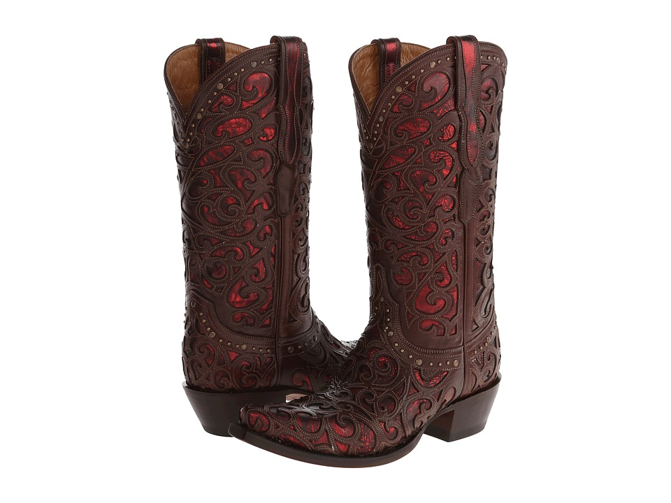 Lucchese - M4840 (Whiskey) Cowboy Boots