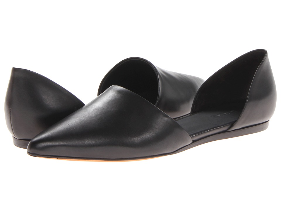 Vince - Nina (Black/Nat) Women's Slip on Shoes