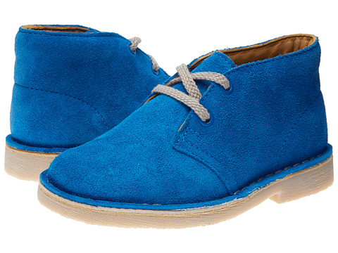 Clarks Kids - Desert Boot (Toddler) (Cobalt/Cobalt/Academy) Boys Shoes