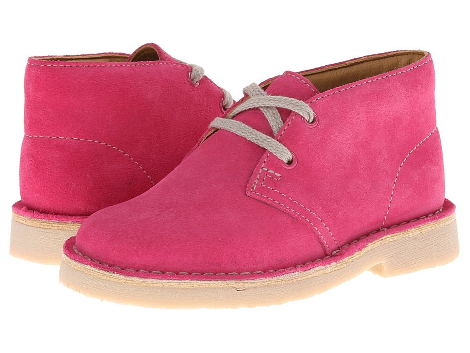 Clarks Kids - Desert Boot (Toddler/Little Kid) (Pink) Girls Shoes