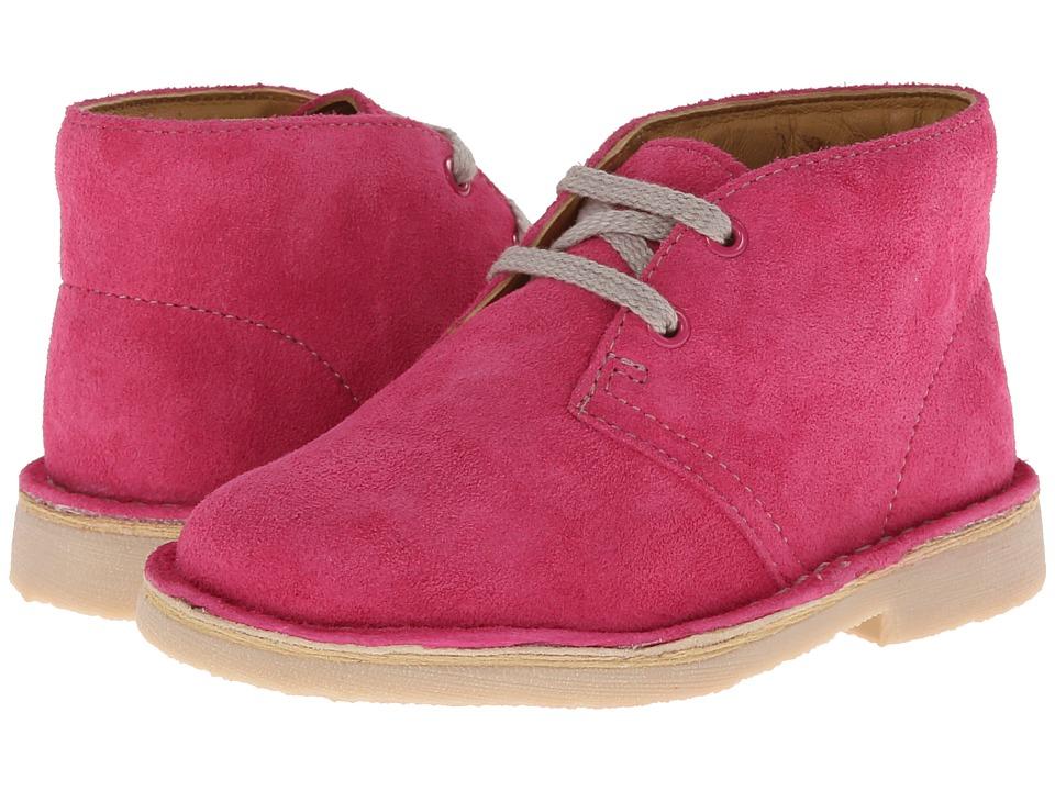 Clarks Kids - Desert Boot (Toddler) (Pink) Girls Shoes
