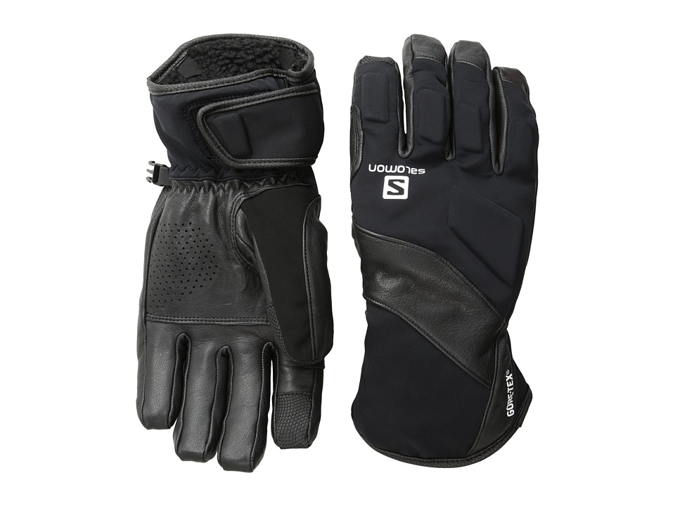 Salomon - Vision Gtx(r) M (Black) Cycling Gloves