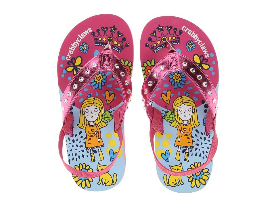Crabbyclaws - Princess (Toddler/Little Kid/Big Kid) (Magenta Metal) Girl's Shoes
