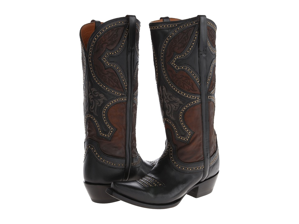 Lucchese M4862 (Black) Cowboy Boots