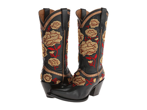 Lucchese - M4855 (Black) Cowboy Boots