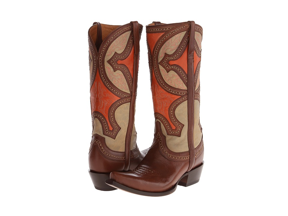 Lucchese - M4860 (Whiskey) Cowboy Boots