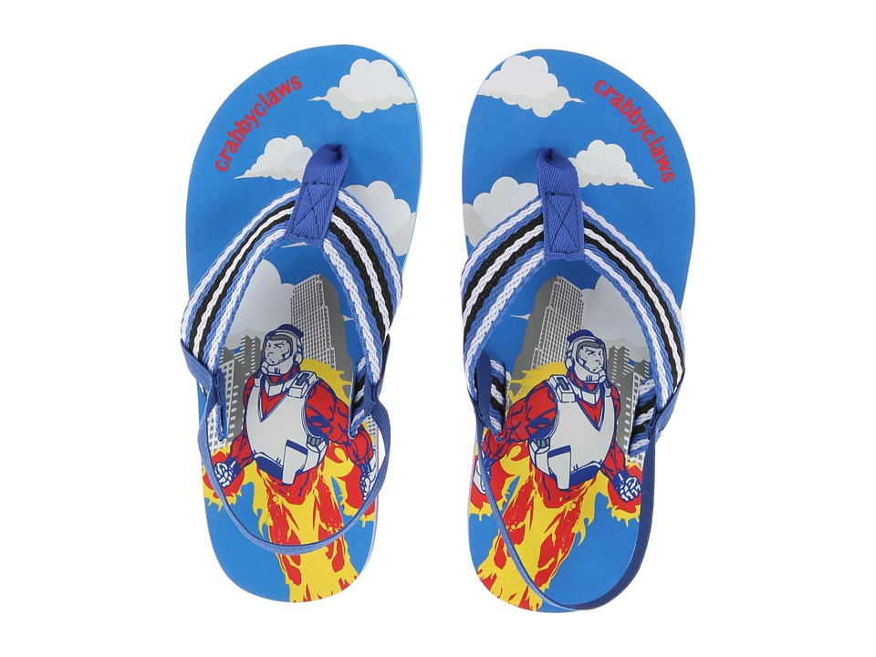 Crabbyclaws - Hero (Toddler/Little Kid/Big Kid) (Blue) Boy's Shoes
