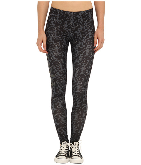 Crooks & Castles - Undertaker Knit Leggings (Black Digi Camo) Women's Clothing