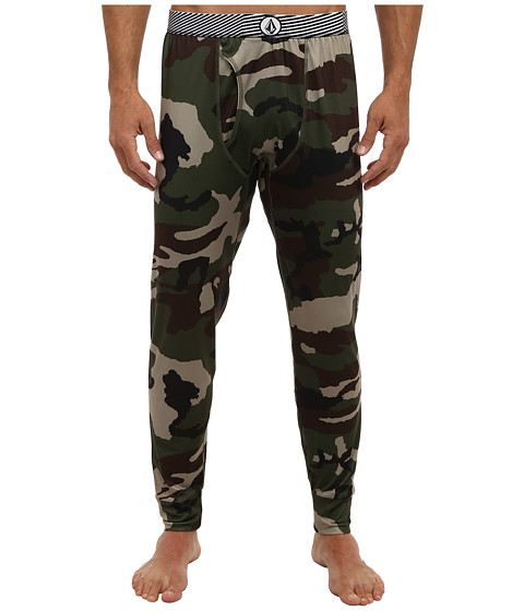 Volcom Snow - First Layer Bottom (Camouflage) Men's Casual Pants