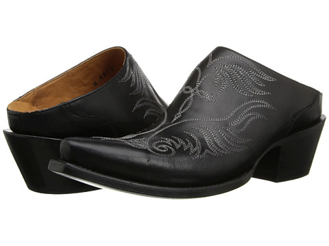 Lucchese - M4876 (Western Mule Black) Women's Shoes