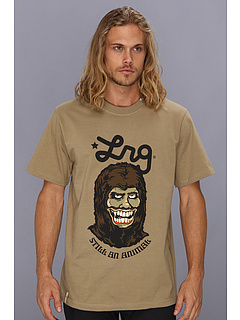 SALE! $11.99 - Save $16 on L R G Still An Animal Tee (British Khaki) Apparel - 57.18% OFF $28.00