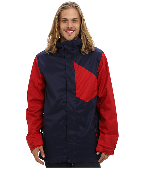 Volcom Snow - Stone Block Jacket (Navy) Men's Coat