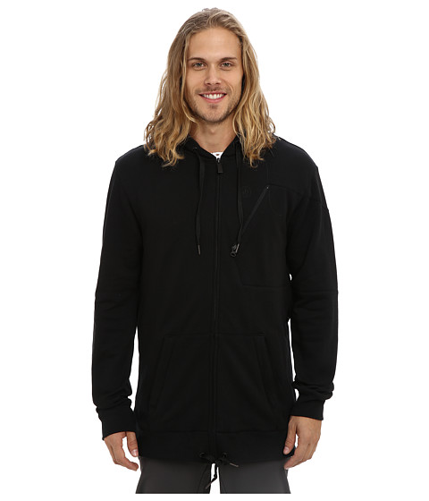 Volcom Snow - Isosceles Repellent Hoodie (Black) Men's Sweatshirt