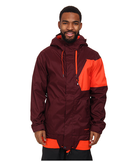 Volcom Snow - Isosceles Jacket (Burgundy) Men's Coat