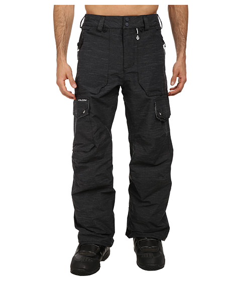 Volcom Snow - Brigg Pant (Black) Men's Casual Pants