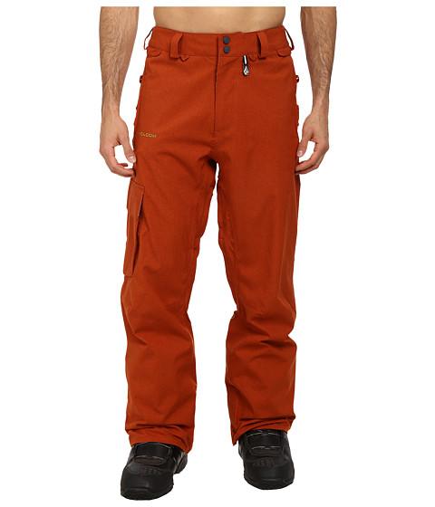 Volcom Snow - Ventral Cargo Pant (Rust) Men's Outerwear