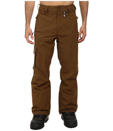 Volcom Snow - Ventral Cargo Pant (Teak) Men's Outerwear