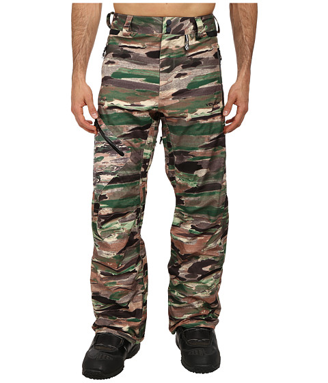 Volcom Snow - L Gore-Tex Pant (Camouflage) Men's Casual Pants