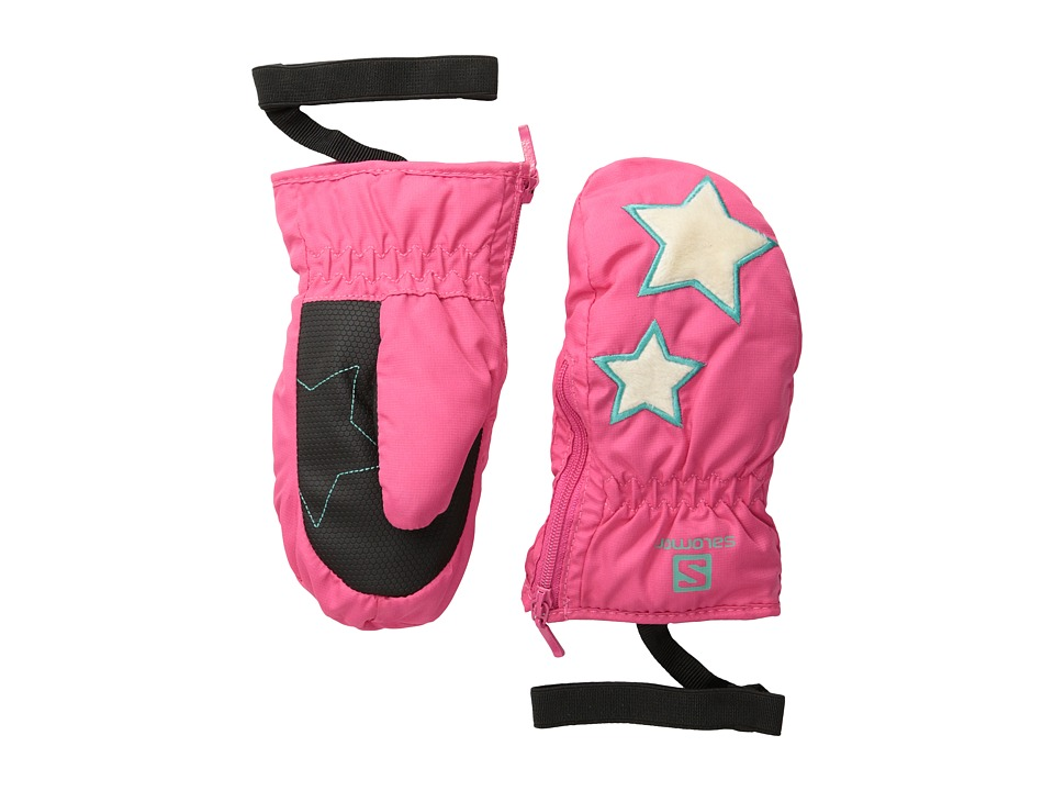 Salomon - Baboo Mitten Jr (Hot Pink) Cycling Gloves