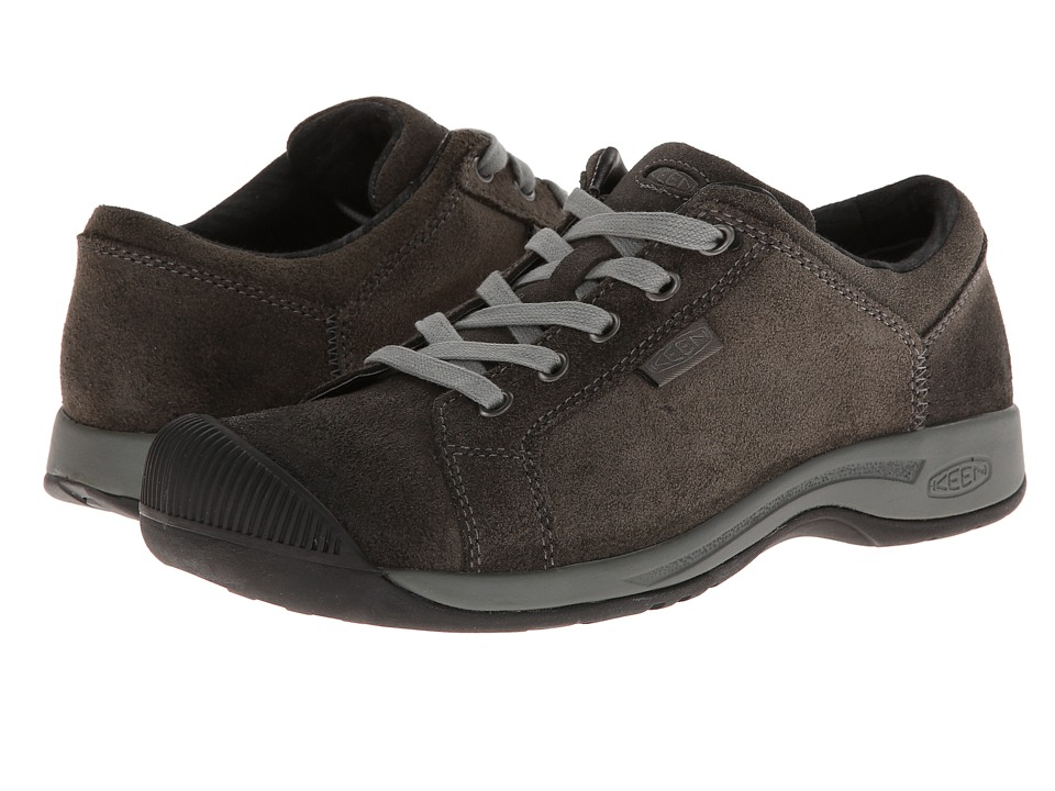 Keen - Reisen Lace (Black) Women's Lace up casual Shoes