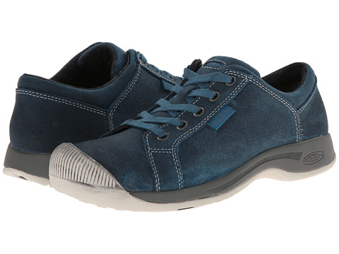 Keen - Reisen Lace (Moroccan Blue) Women's Lace up casual Shoes