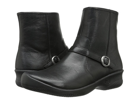 Keen - Bern Ankle (Black) Women's Zip Boots