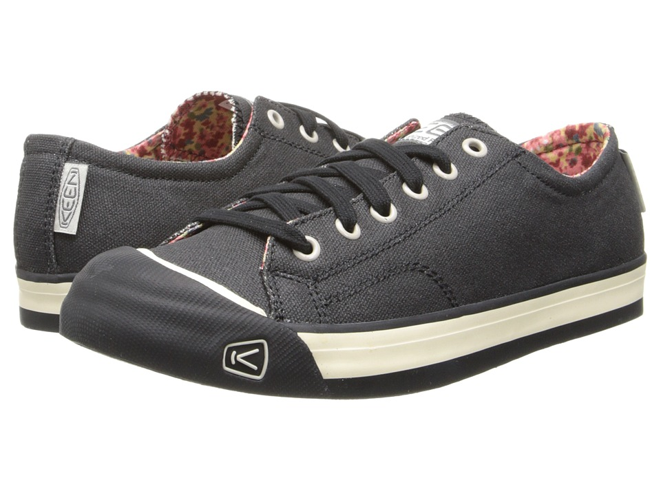 Keen - Coronado (Black Floral) Women's Lace up casual Shoes
