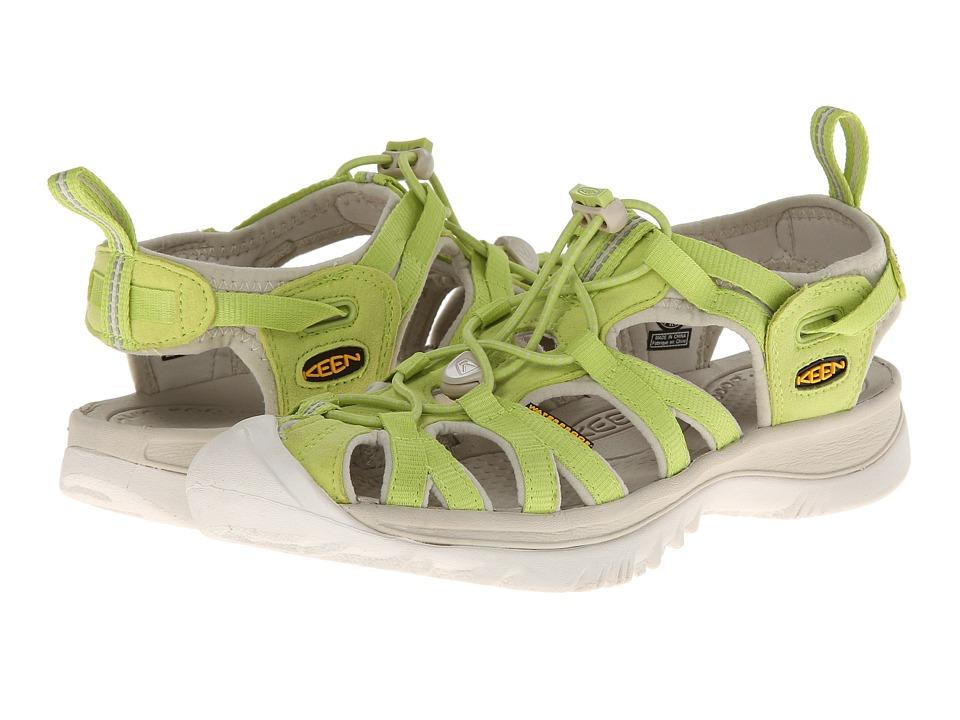 Keen - Whisper (Green Glow/Pumice Stone) Women's Sandals
