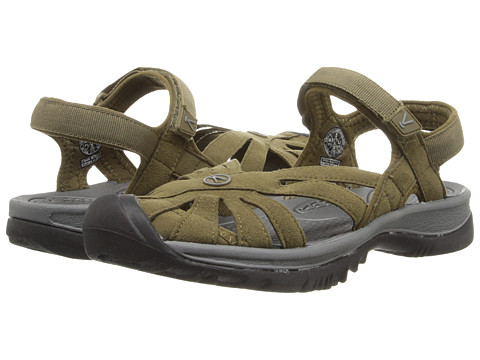 Keen - Rose Sandal (Beech/Gargoyle) Women's Shoes