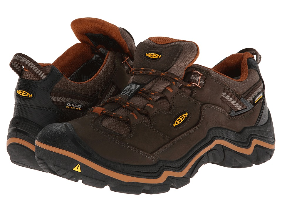 Keen - Durand Low WP (Cascade Brown/Glazed Ginger) Men's Hiking Boots