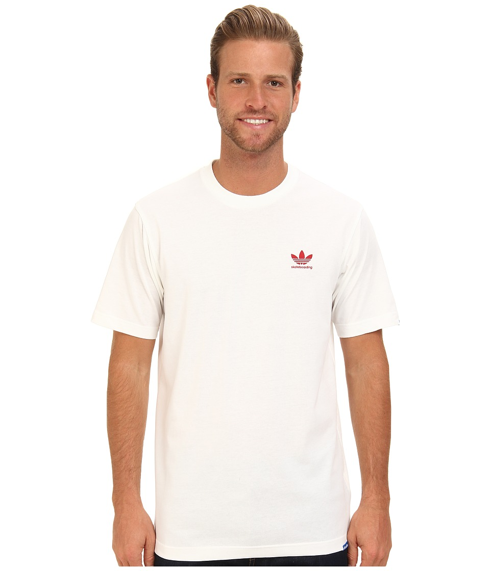 adidas Skateboarding - ADV Tee (White) Men's T Shirt