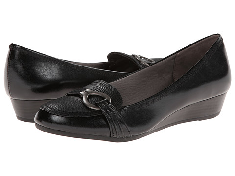 LifeStride - Flitty (Black Tess/City Lizzy) Women's Slip on Shoes