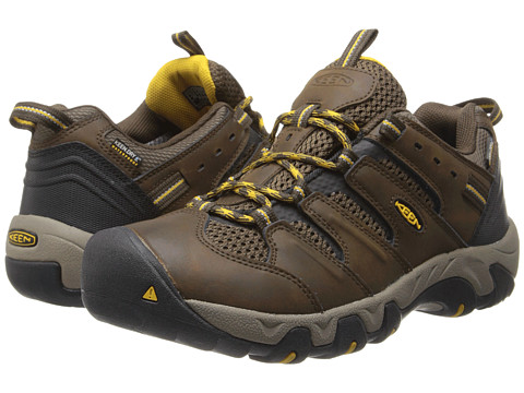 Keen - Koven Low WP (Cascade Brown/Tawny Olive) Men's Hiking Boots