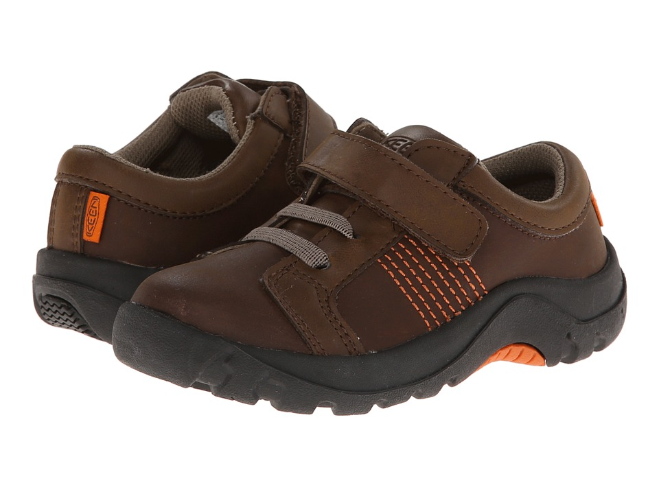 Keen Kids - Austin II (Toddler/Little Kid) (Dark Earth/Burnt Orange) Boy's Shoes