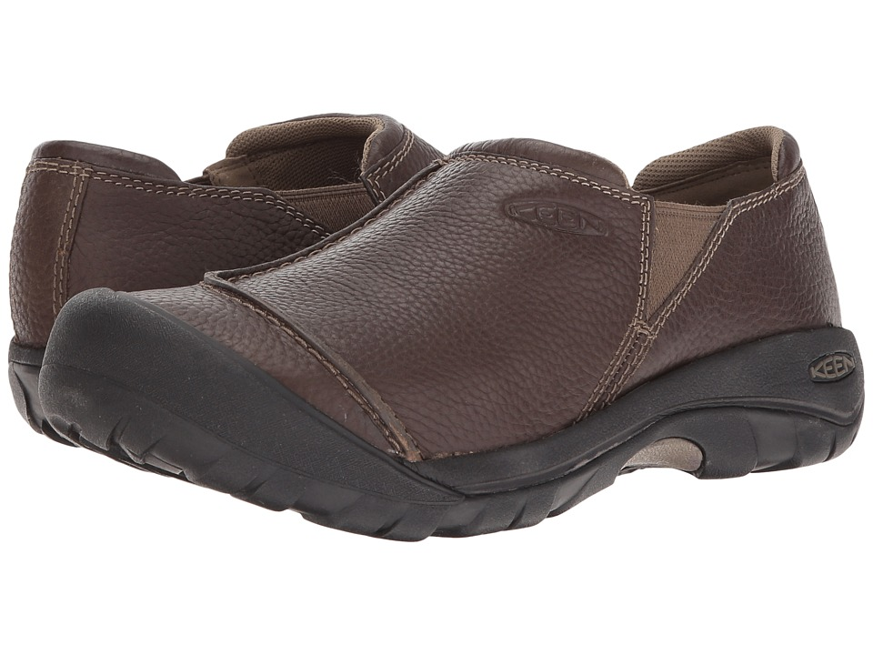 Keen - Austin Slip-On (Cascade Brown) Men's Slip on Shoes