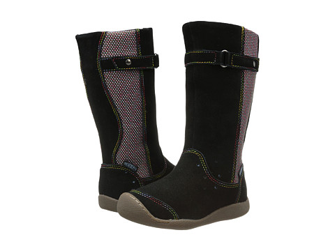 Keen Kids - Punky High Boot (Toddler/Little Kid) (Black/Alaskan Blue) Girls Shoes