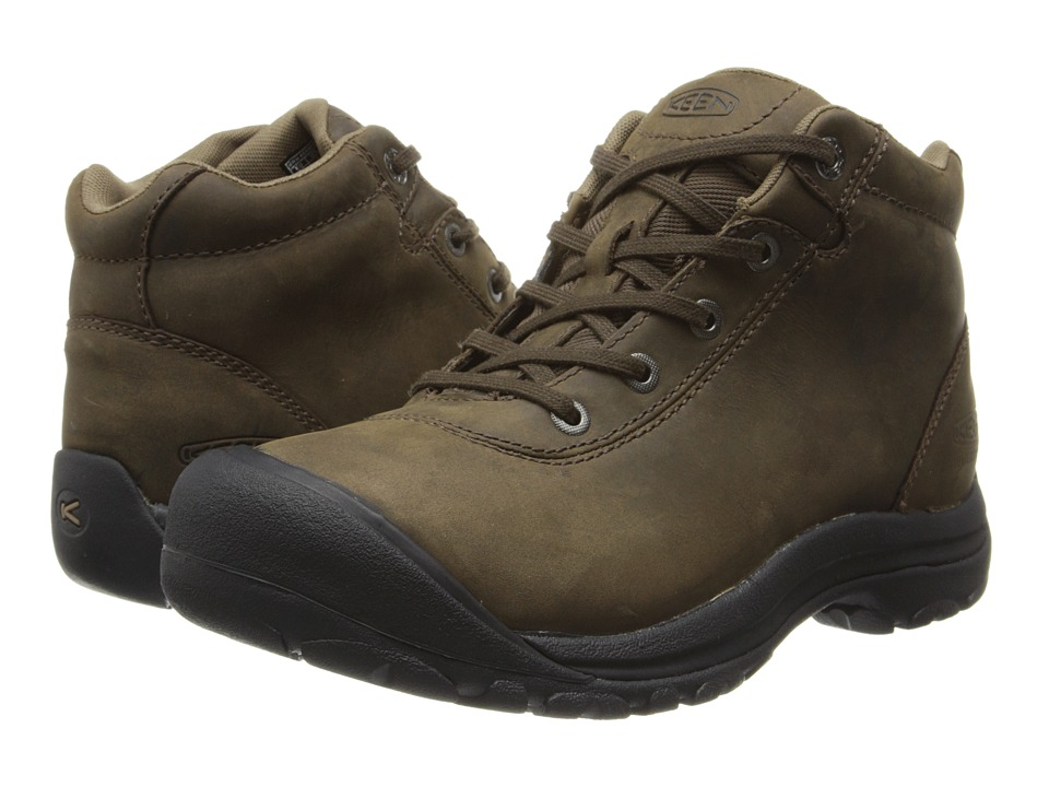 Keen - Briggs Mid WP (Cascade Brown) Men's Waterproof Boots