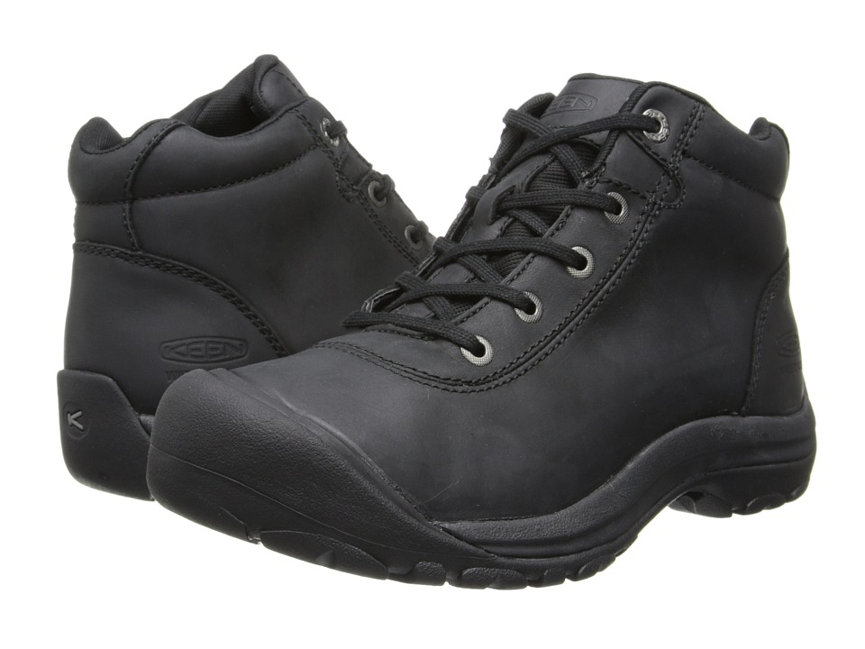 Keen - Briggs Mid WP (Black) Men's Waterproof Boots