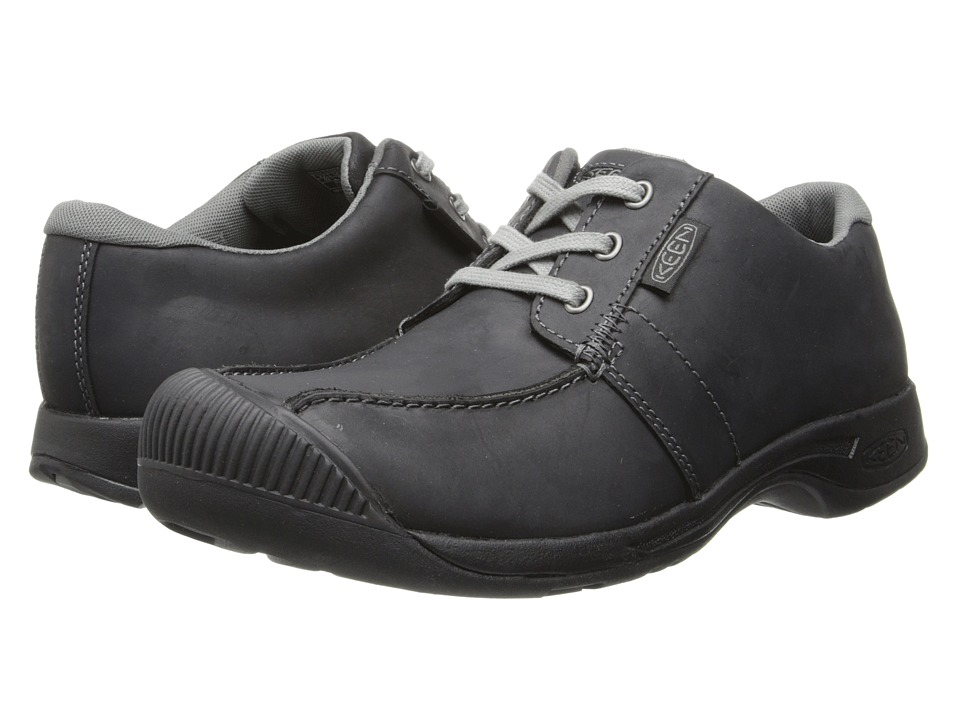 Keen - Reisen Low (Black) Men's Lace up casual Shoes