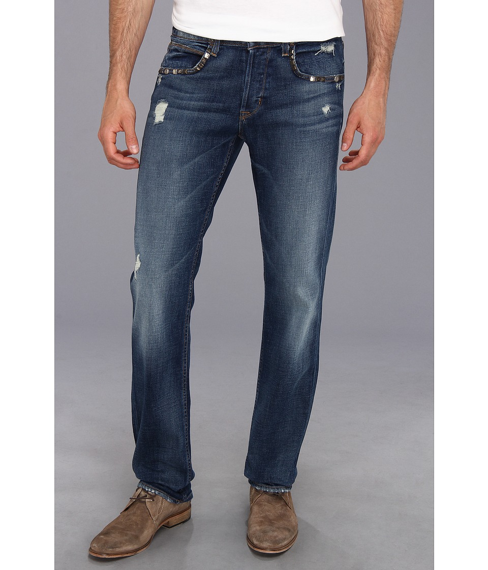 Hudson - Byron Five-Pocket Straight in Bentley Custom (Bentley Custom) Men's Jeans