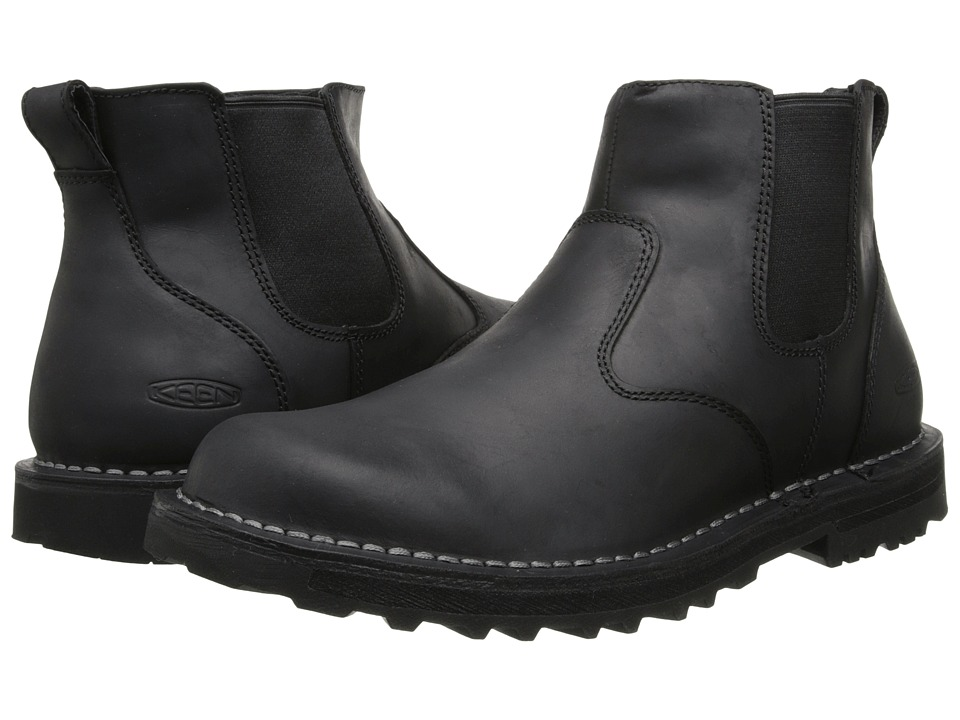 Keen - Tyretread Chelsea (Black) Men's Pull-on Boots