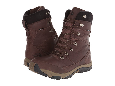 The North Face - Chilkat Leather Insulated Tall (Demitasse Brown/Crib Brown) Men