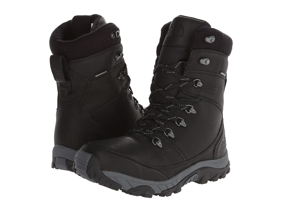 The North Face - Chilkat Leather Insulated Tall (TNF Black/Zinc Grey) Men