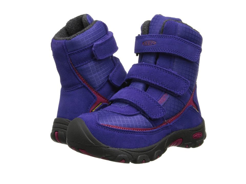 Keen Kids - Trezzo WP (Toddler/Little Kid) (Orient Blue/Cerise) Girls Shoes