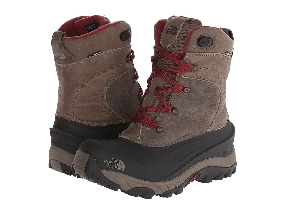 The North Face - Chilkat II Removable (Weimaraner Brown/Cherry Stain Brown) Men