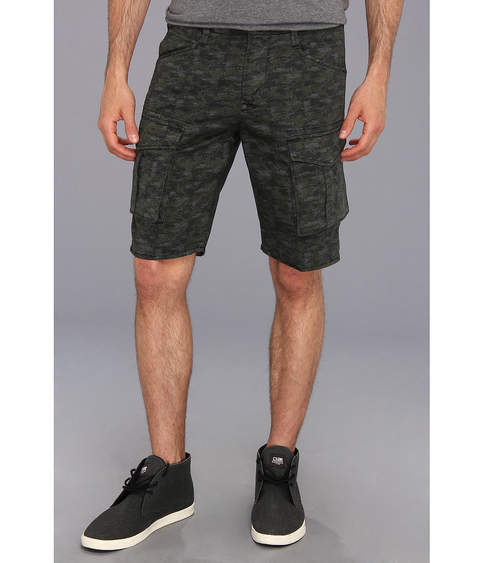 Hudson - Cargo Short (Desert Storm Green Camo) Men