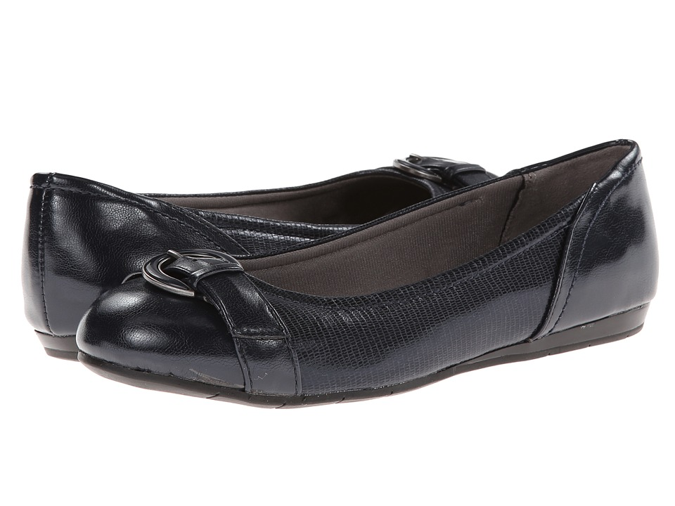 LifeStride - Nero (Dark Navy Disco Fab/Tess) Women's Flat Shoes